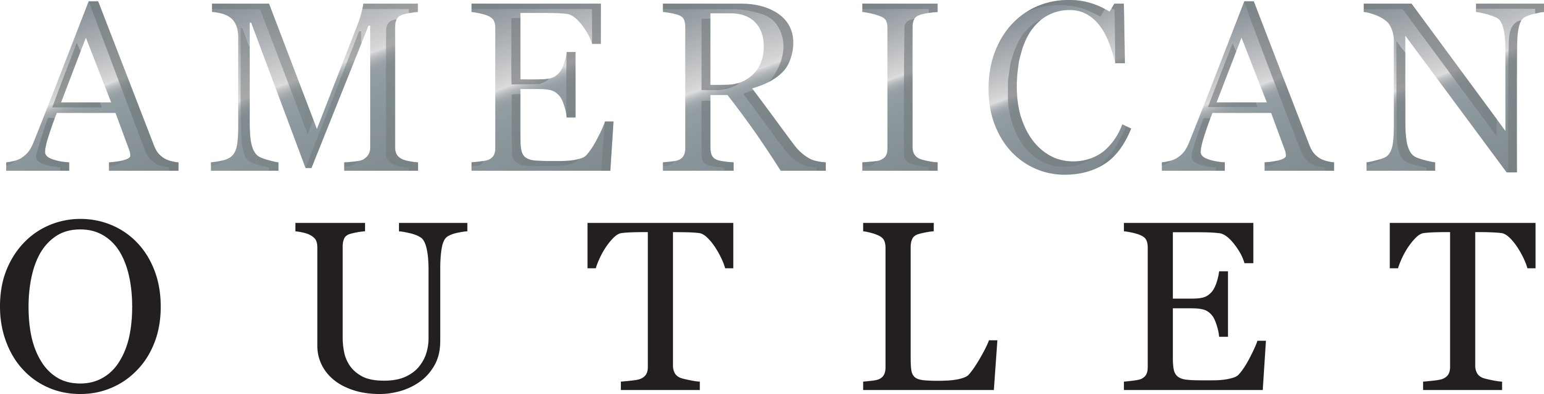 American Outlet logo