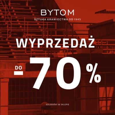 Wyprzedaż w BYTOM do -70%