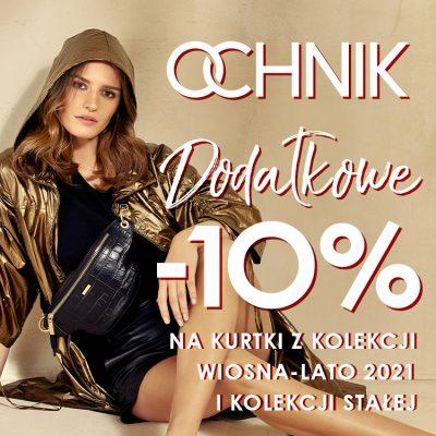 Extra rabat -10% na wszystkie kurtki w OCHNIK!
